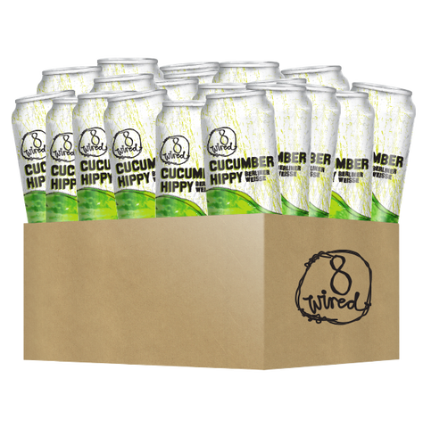 Cucumber Hippy 440ml Cans 24 Pack - 8 Wired Brewing