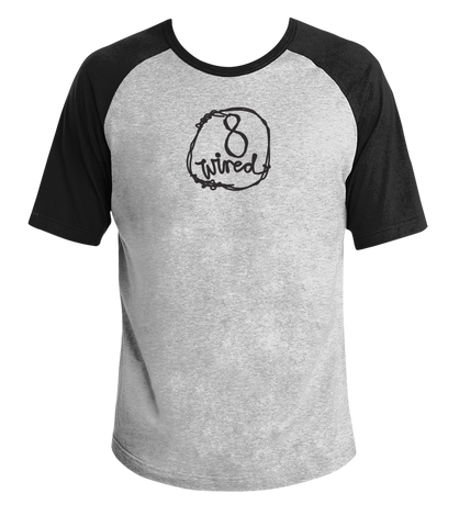 Raglan Tee - 8 Wired Brewing