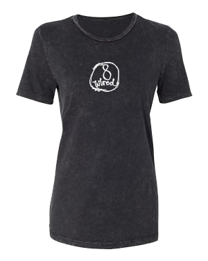 Womans Mineral Wash Tee - 8 Wired Brewing