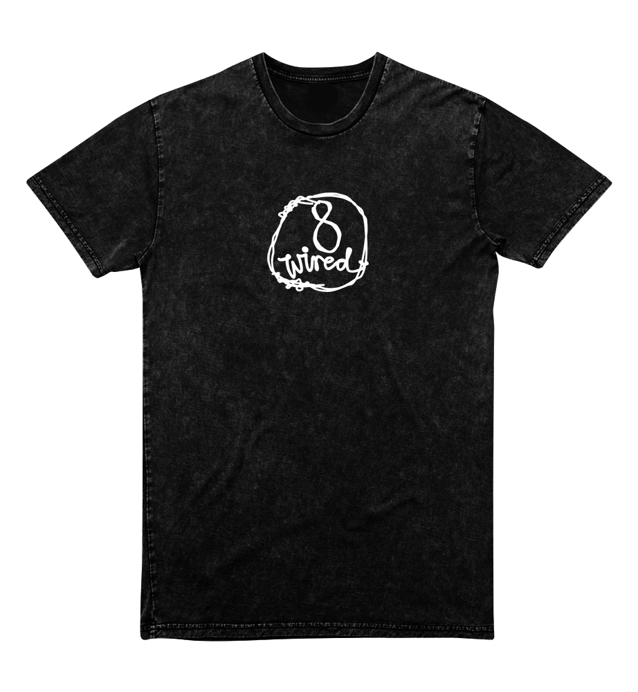 Mineral Wash Tee - 8 Wired Brewing