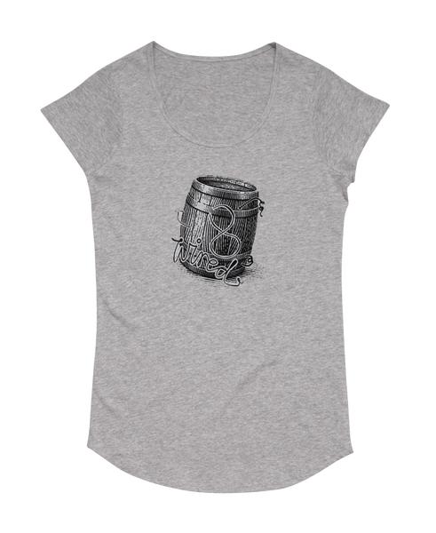 Womens Barrel Tee