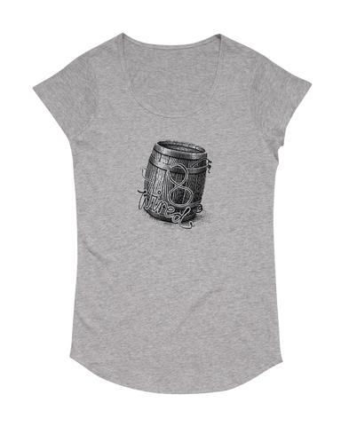 Womens Barrel Tee - 8 Wired Brewing