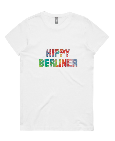Womens Hippy Berliner Tee - 8 Wired Brewing
