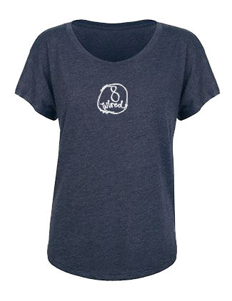 Womans Tri Blend Tee - 8 Wired Brewing