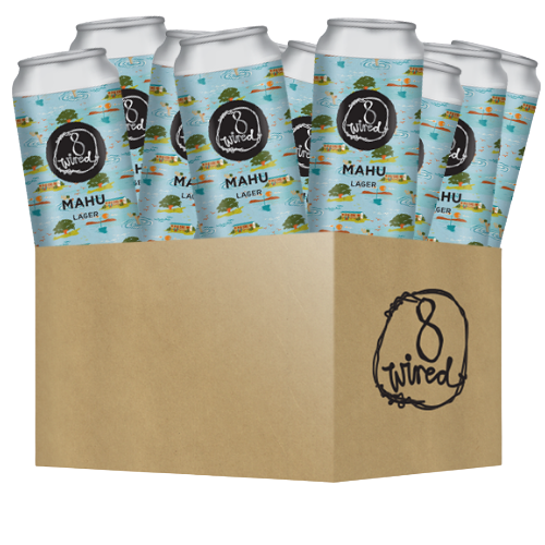 Mahu Lager - 440ml Cans 12 PACK
