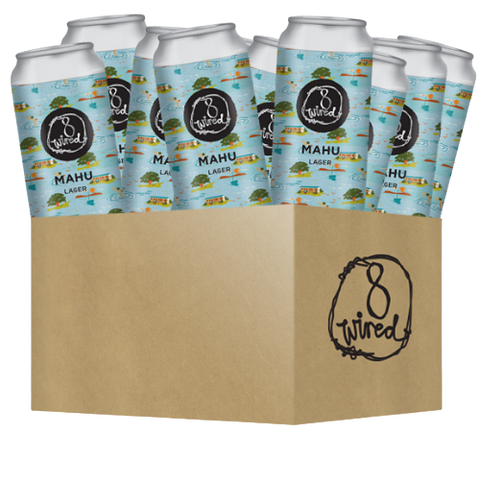 Mahu Lager Pack - 12 x 440ml Cans