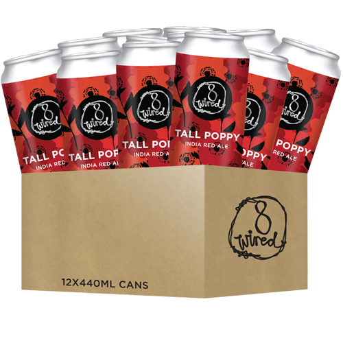 Tall Poppy - 440ml Cans 12 PACK