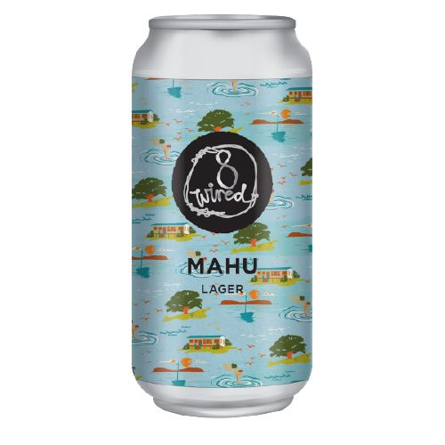 Mahu Lager 440 ml cans, 4.5% Alc./Vol., 24x 440ml CANS