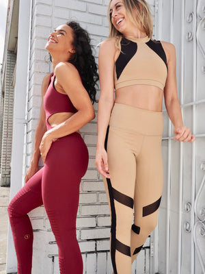 Limited Edition Shama Jade Avalon Moto Jumpsuit: Wine Red