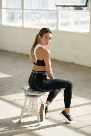 Shama Jade Pocket Legging - Shama Jade | Women's Luxury Yoga Jumpsuits and Activewear