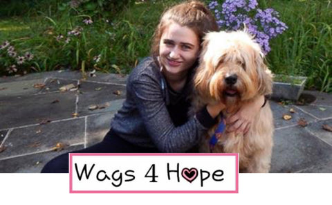 Annie Blumenfeld and Wags 4 Hope