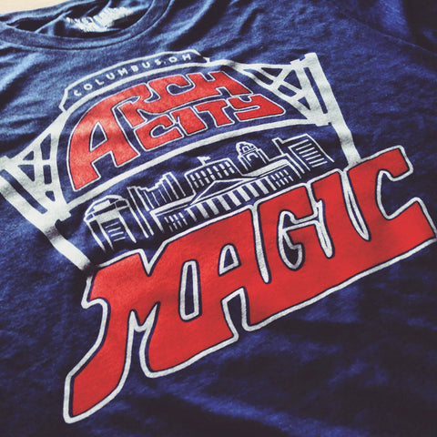 Arch City Magic Rock Tee