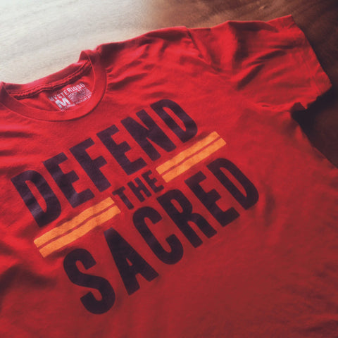 Defend The Sacred Rock Tee