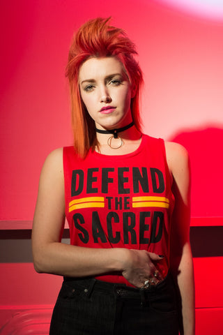 Women's Defend The Sacred Tank