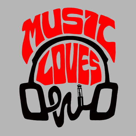 Music Loves Ohio Rock Tee