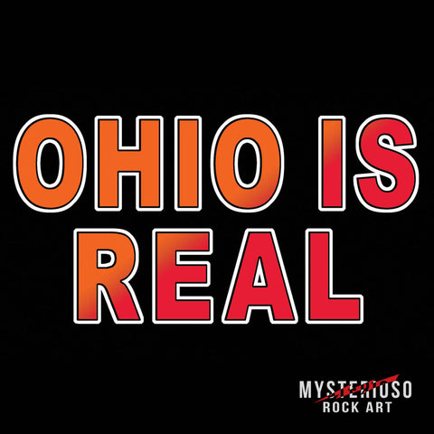 Ohio Is Real Rock Tee