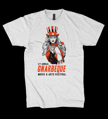 Gnarbeque 5 Rock Tee