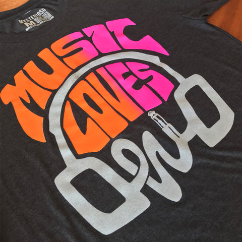Music Loves Ohio Rock Tee - Mysterioso Fire Variant