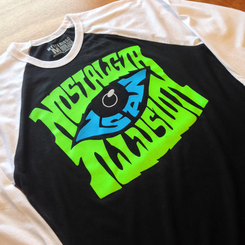 Nostalgia Is An Illusion Rock Raglan