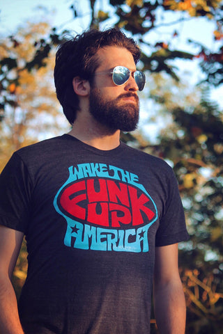 Wake The Funk Up, America Rock Tee