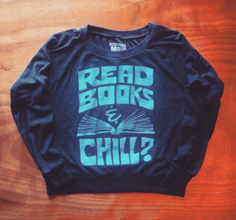 Women's Read Books & Chill Raglan