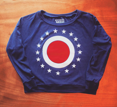 "Women's The Union ""O"" Raglan"