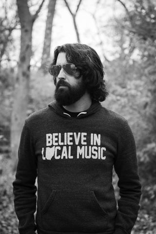Believe In Local Music Hoody