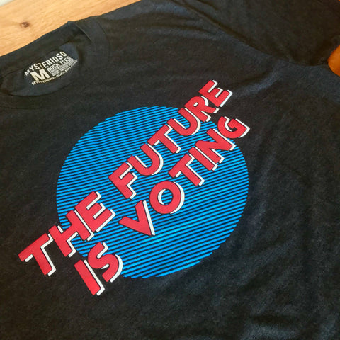 The Future Is Voting Rock Tee