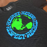 The Four Rs Rock Tee - Mysterioso Rock Art