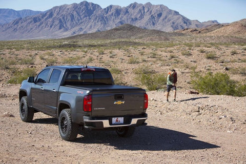 Pickup Truck in a desert