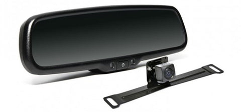 Backup Camera System with Replacement Mirror Display | Auto Truck Depot