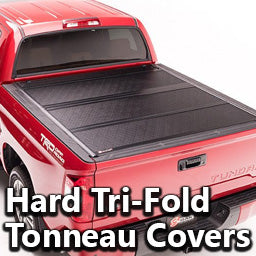 Hard Tri-Fold Tonneau Covers
