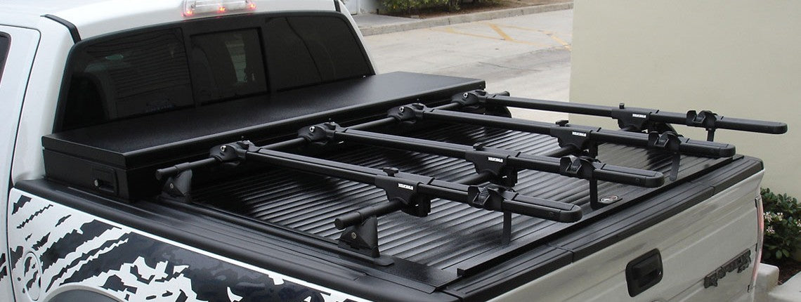 Truck Covers USA with Rack System