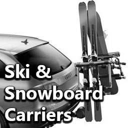 Ski and Snowboard carriers, racks and mounts