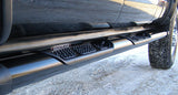 Excalibur 2 Tone - W2W Silver & Black Running Boards