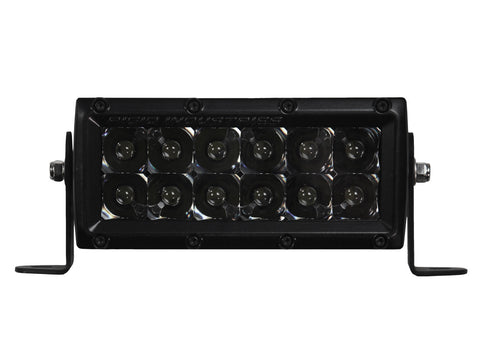 "Rigid Industries E-Series 6"" Midnight Edition Spot Light 