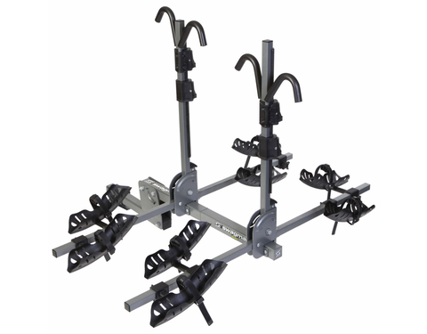 Swagman QUAD 2+2 - 2 to 4 Bike Platform Hitch Rack