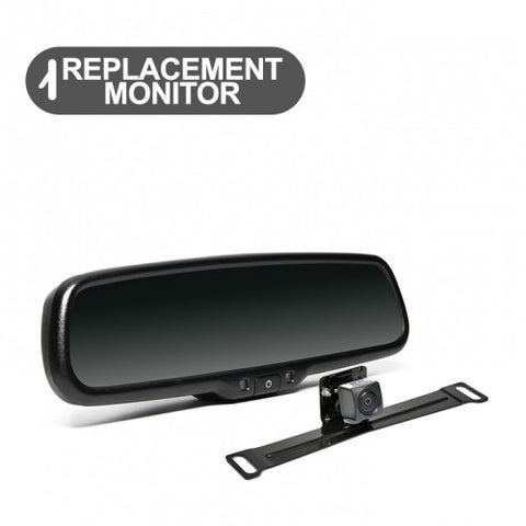 Backup Camera System with  Replacement Mirror Display RVS-778718N | Auto Truck Depot