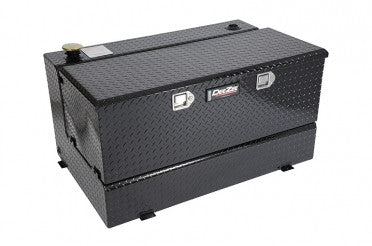 Combo Transfer Tank & Utility Chest - Black-Tread Aluminum (80 Gallon) | Auto Truck Depot