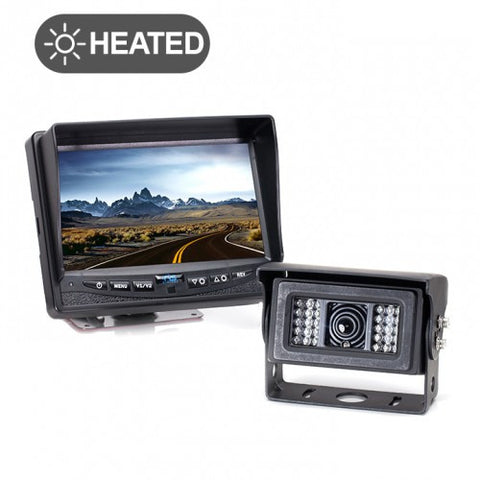 Backup Camera System with Heated Camera RVS-770812N | Auto Truck Depot