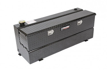 Combo Transfer Tank & Utility Chest - Black-Tread Aluminum (50 Gallon) | Auto Truck Depot