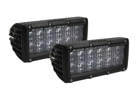 "Rigid Industries E-Series 6"" SAE Compliant Driving Light Set (Pair) 