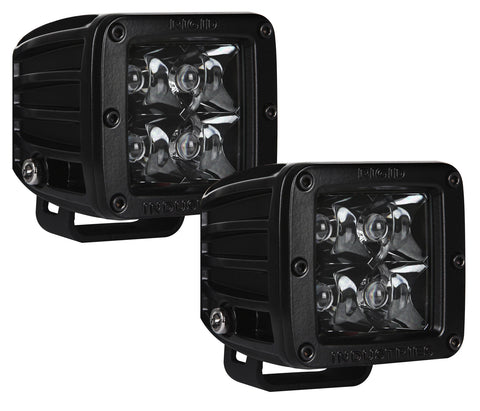 Rigid Industries D-Series Midnight Edition (Pair) | Auto Truck Depot