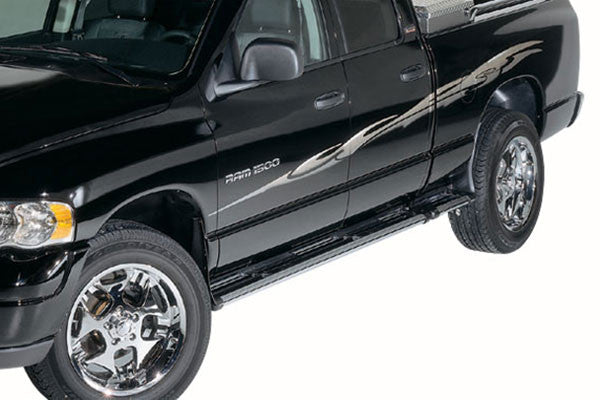 Dee Zee Black FX Running Boards | Auto Truck Depot