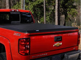Sleek and secure truck bed of a Chevy