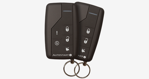 AutoStart 1-Way 5 Btn Remote Start System
