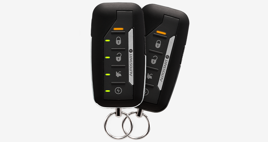 AutoStart LED 2-Way SST 5 Btn Remote Start System
