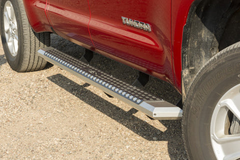 Aries AdvantEDGE 5.5 Inch Chrome Side Bars - Mounting Brackets Included