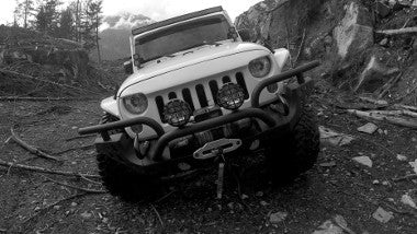 Aries Front Modular Bumper - Jeep