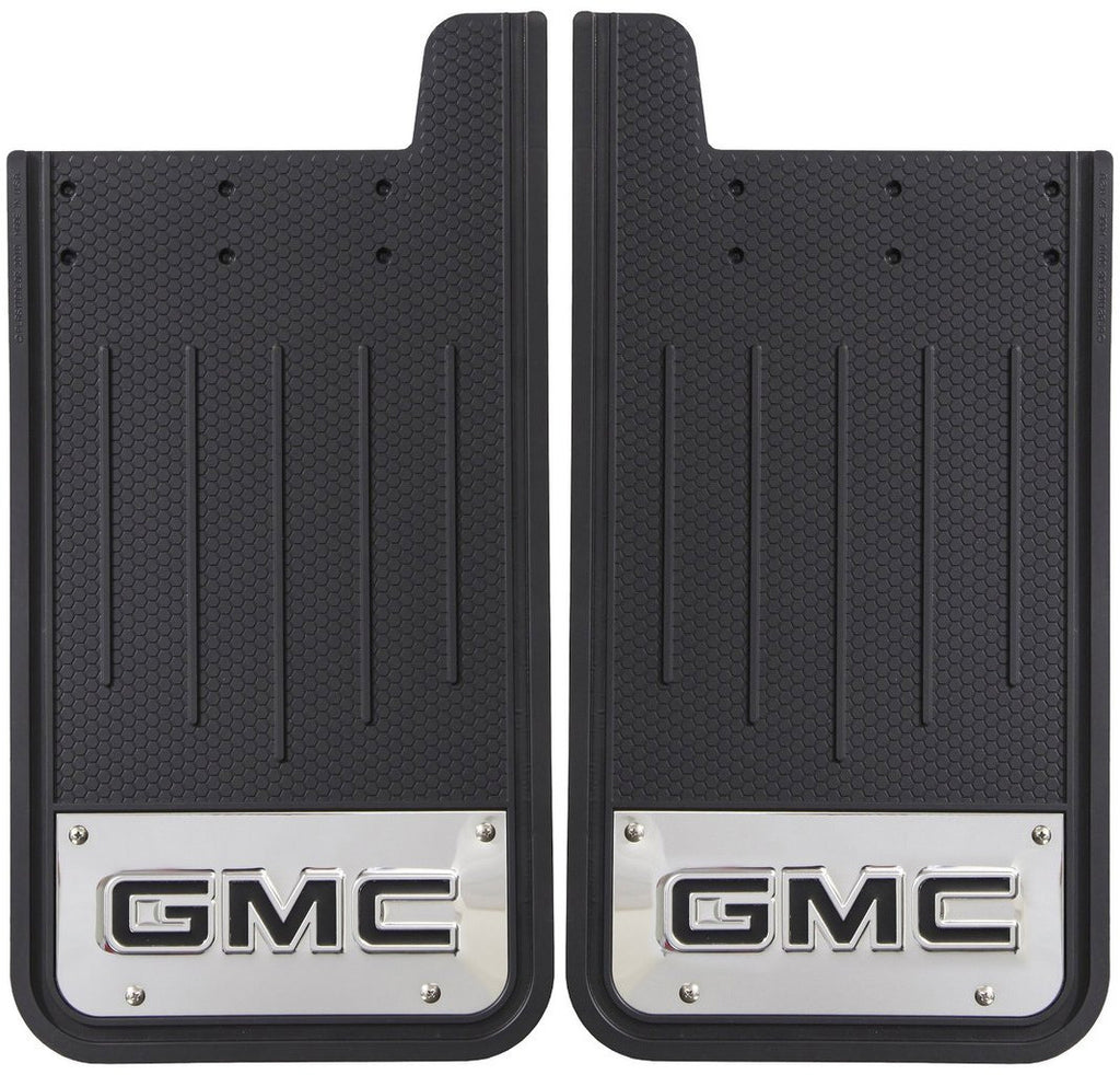 Plasticolor Textured Heavy Duty Mudflaps with Embossed GMC Logo (Pair)
